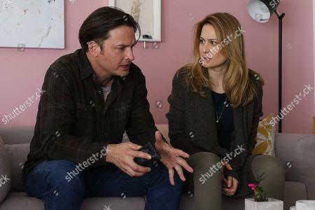 Aden Young as Luke Sullivan and Camille Sullivan as Helen Murphy Sullivan
