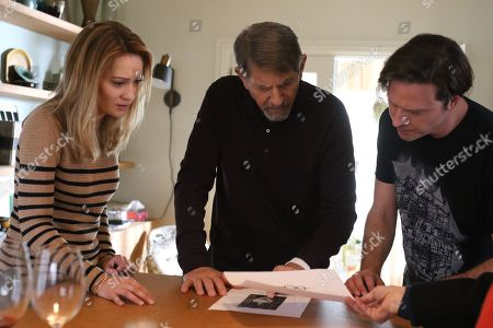 Camille Sullivan as Helen Murphy Sullivan, Peter Coyote as Henry Sullivan and Aden Young as Luke Sullivan