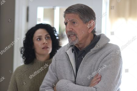 Joanne Kelly as Catherine Sullivan and Peter Coyote as Henry Sullivan