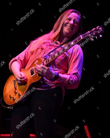 Editorial photo of Joanne Shaw Taylor in concert at the Charles F. Dodge City Center, Florida, USA - 27 Oct 2019