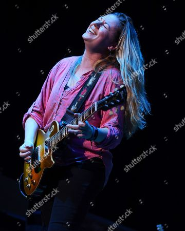 Editorial picture of Joanne Shaw Taylor in concert at the Charles F. Dodge City Center, Florida, USA - 27 Oct 2019