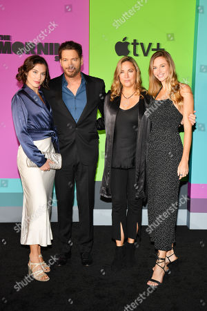 Stock Picture of Sarah Kate Connick, Harry Connick Jr., Jill Goodacre, Georgia Tatum Connick