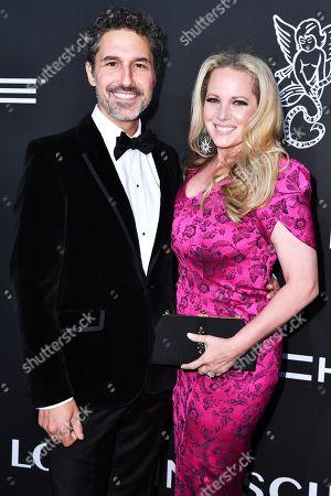 Ethan Zohn and Lisa Heywood