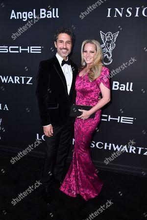 Stock Photo of Ethan Zohn and Lisa Heywood