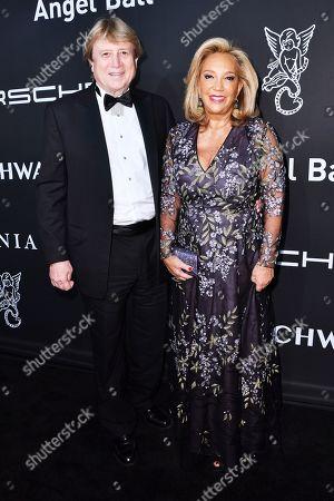 Peter Cervinka and Denise Rich