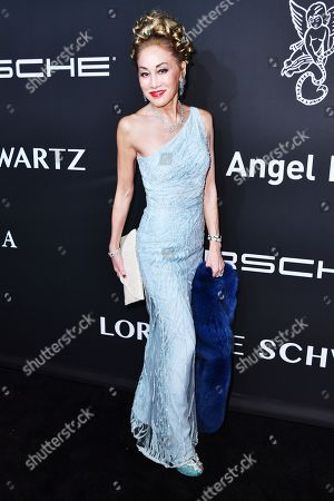 Editorial picture of Gabrielle's Angel Foundation for Cancer Research Angel Ball, Arrivals, Cipriani Wall Street, New York, USA - 28 Oct 2019