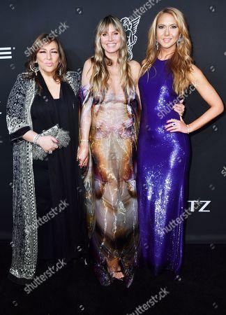 Lorraine Schwartz, Heidi Klum, and Ofira Sandberg