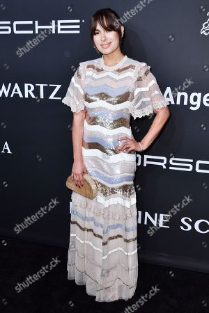 Editorial photo of Gabrielle's Angel Foundation for Cancer Research Angel Ball, Arrivals, Cipriani Wall Street, New York, USA - 28 Oct 2019