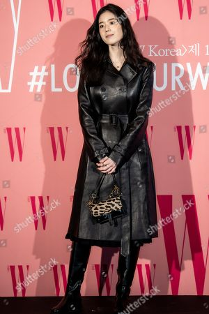 Editorial photo of Breast cancer awareness campaign 'Love Your W' photocall, Seoul, South Korea - 25 Oct 2019