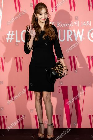 Editorial image of Breast cancer awareness campaign 'Love Your W' photocall, Seoul, South Korea - 25 Oct 2019