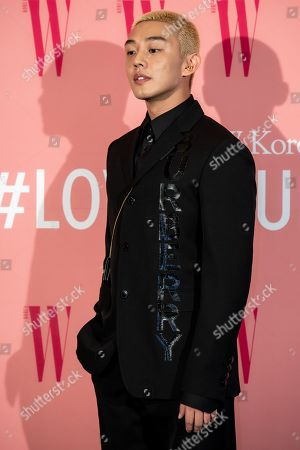 Editorial picture of Breast cancer awareness campaign 'Love Your W' photocall, Seoul, South Korea - 25 Oct 2019