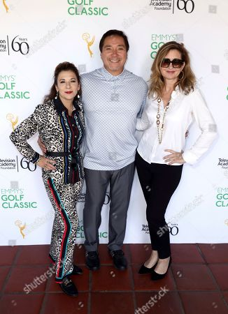 Madeline Di Nonno, Benito Martinez, Jodi Delaney. Madeline Di Nonno, from left, Benito Martinez, and Jodi Delaney attend the 20th Annual Emmys Golf Classic at the Wilshire Country Club, in Los Angeles
