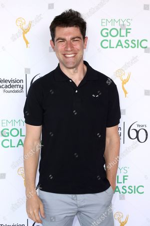 Max Greenfield attends the 20th Annual Emmys Golf Classic at the Wilshire Country Club, in Los Angeles