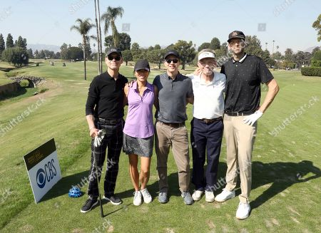 Glenn Whitehead, Natasha Shum, Jeremy Smith, Jay Roewe, Tim Simons. Glenn Whitehead, from left Natasha Shum, Jeremy Smith, Jay Roewe, and Tim Simons from team 9 participate in the 20th Annual Emmys Golf Classic at the Wilshire Country Club, in Los Angeles