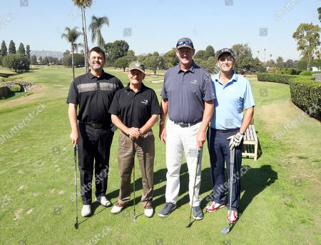 Rob Wolken, Robert Port, Matt Butler, Andy Buckley. Rob Wolken, from left, Robert Port, Matt Butler, and Andy Buckley from team 24 participate in the 20th Annual Emmys Golf Classic at the Wilshire Country Club, in Los Angeles