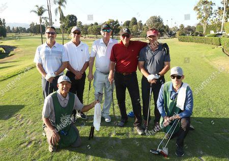 Barry Becker, Ted Burrows, Steve Nevius, Peter Weller and Greg Markman