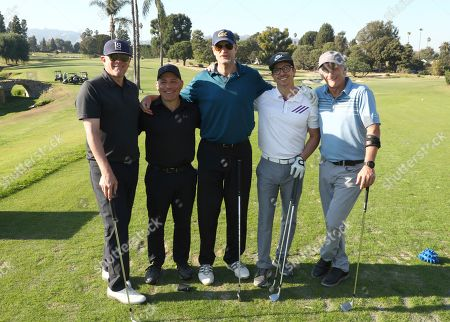 Stock Image of Ray Landes, Gregg Glickman, Tom Sherren, Evan Sherman and Matt Craven