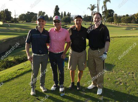 Damien Bisserier, Mark Sear, Bob Nagelhout and Richard Kind