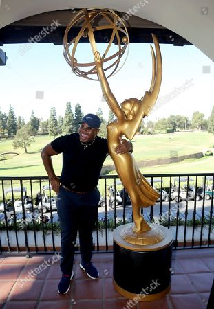 Marcel Spears attends the 20th Annual Emmys Golf Classic at the Wilshire Country Club, in Los Angeles