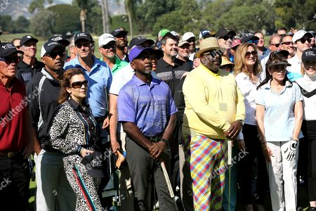 Madeline Di Nonno, Joe Torry, Cedric the Entertainer, Jodi Delaney, Kate Linder. Madeline Di Nonno, from left, Joe Torry, Cedric the Entertainer, Jodi Delaney, and Kate Linder attend the 20th Annual Emmys Golf Classic at the Wilshire Country Club, in Los Angeles