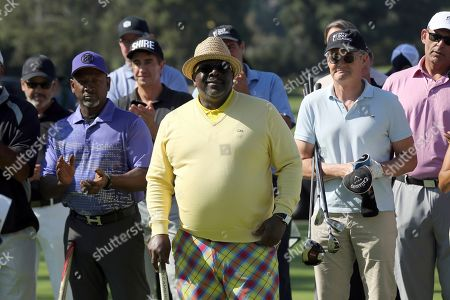 Joe Torry, Cedric the Entertainer. Joe Torry, left, and Cedric the Entertainer attend the 20th Annual Emmys Golf Classic at the Wilshire Country Club, in Los Angeles
