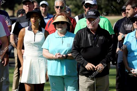 Andia Winslow, Patrika Darbo, Jack McGee. Andia Winslow, from left, Patrika Darbo, and Jack McGee attend the 20th Annual Emmys Golf Classic at the Wilshire Country Club, in Los Angeles