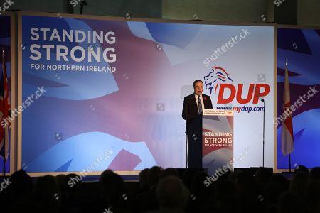 Deputy DUP Leader Rt Hon Nigel Dodds