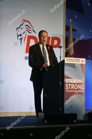 Stock Photo of Deputy DUP Leader Rt Hon Nigel Dodds
