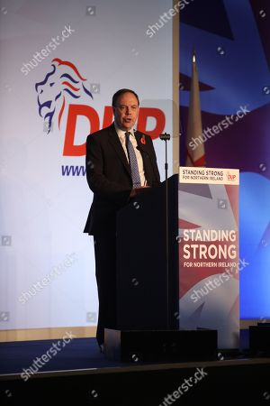 Editorial image of DUP Annual Conference, Belfast, Northern Ireland, UK - 26 Oct 2019