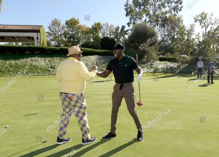 Cedric the Entertainer, Sheaun McKinney. Cedric the Entertainer, left, and Sheaun McKinney attend the 20th Annual Emmys Golf Classic at the Wilshire Country Club, in Los Angeles