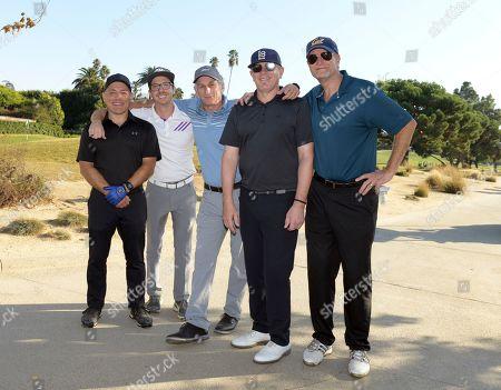Stock Photo of Gregg Glickman, Evan Sherman, Matt Craven, Ray Landes and Tom Sherren