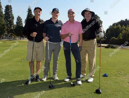 Bob Nagelhout, Damien Bisserier, Mark Sear and Richard Kind