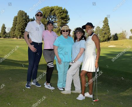 Hunter Isaacson, Dawn DuMont-Perdew, Patrika Darbo, Kate Linder and Andia Winslow