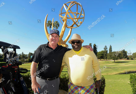 Jack McGee, Cedric the Entertainer. Jack McGee, left, and Cedric the Entertainer attend the 20th Annual Emmys Golf Classic at the Wilshire Country Club, in Los Angeles