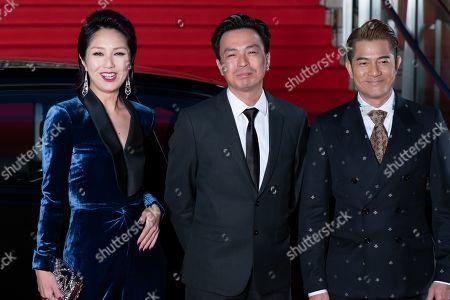 Miriam Yeung and Aaron Kwok