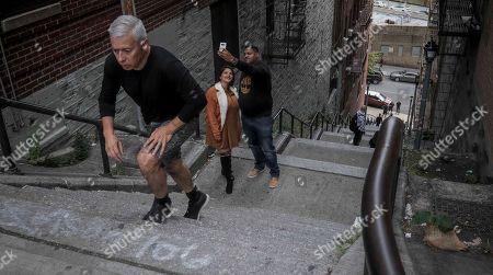 Editorial photo of Joker Stairs, New York, USA - 28 Oct 2019
