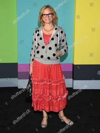 """Amy Sedaris attends the world premiere of Apple's """"The Morning Show"""" at David Geffen Hall, in New York"""