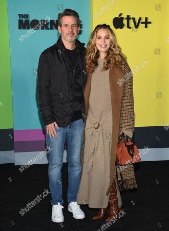 "Stock Picture of Simon Kinberg, Cleo Wade. Simon Kinberg, left, and Cleo Wade attend the world premiere of Apple's ""The Morning Show"" at David Geffen Hall, in New York"