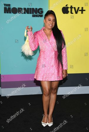 """Phoebe Robinson attends the world premiere of Apple TV+'s """"The Morning Show"""" at David Geffen Hall at Lincoln Center on Monday, Oct. 28, in New York"""