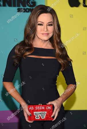 """Television news anchor Robin Meade attends the world premiere of Apple TV+'s """"The Morning Show"""" at David Geffen Hall at Lincoln Center on Monday, Oct. 28, in New York"""