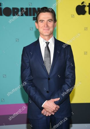 """Billy Crudup attends the world premiere of Apple TV+'s """"The Morning Show"""" at David Geffen Hall at Lincoln Center on Monday, Oct. 28, in New York"""
