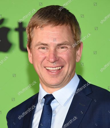 """Television news anchor Pat Kiernan attends the world premiere of Apple TV+'s """"The Morning Show"""" at David Geffen Hall at Lincoln Center on Monday, Oct. 28, in New York"""