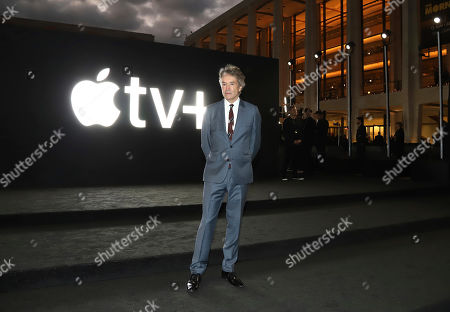 """Carter Burwell at Apple's global premiere of """"The Morning Show"""" at Josie Robertson Plaza and David Geffen Hall, Lincoln Center for the Performing Arts, in New York. """"The Morning Show"""" debuts Nov. 1 on Apple TV+, available on Apple TV app"""