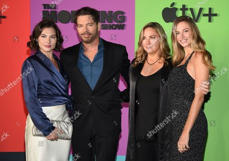 "Sarah Kate Connick, Harry Connick Jr, Jill Goodacre, Georgia Tatum Connick. Sarah Kate Connick, from left, Harry Connick Jr., Jill Goodacre and Georgia Tatum Connick pose together at the world premiere of Apple TV+'s ""The Morning Show"" at David Geffen Hall at Lincoln Center on Monday, Oct. 28, in New York"