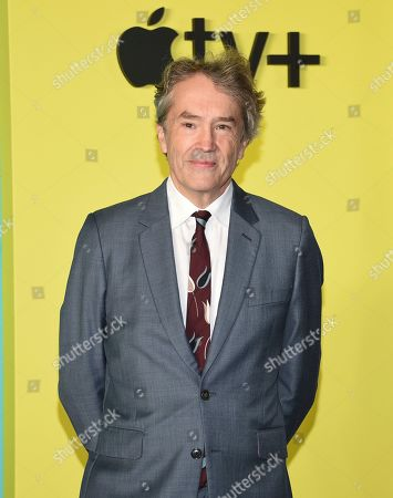 """Stock Picture of Carter Burwell attends the world premiere of Apple TV+'s """"The Morning Show"""" at David Geffen Hall at Lincoln Center on Monday, Oct. 28, in New York"""