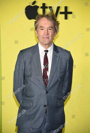 """Carter Burwell attends the world premiere of Apple TV+'s """"The Morning Show"""" at David Geffen Hall at Lincoln Center on Monday, Oct. 28, in New York"""