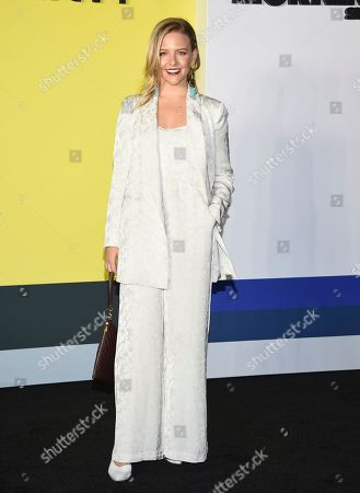 """Helene Yorke attends the world premiere of Apple's """"The Morning Show"""" at David Geffen Hall, in New York"""