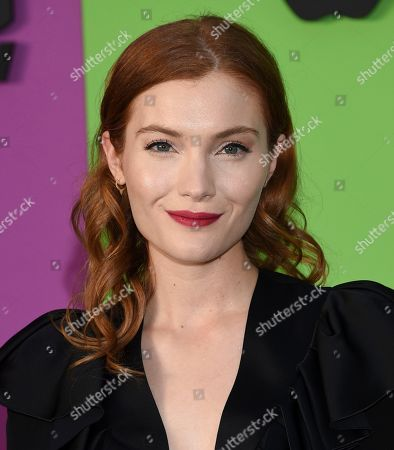 """Skyler Samuels attends the world premiere of Apple TV+'s """"The Morning Show"""" at David Geffen Hall at Lincoln Center on Monday, Oct. 28, in New York"""