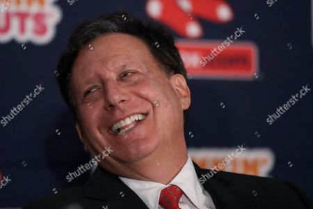 Boston Red Sox baseball team chairman Tom Werner at a news conference at Fenway Park, in Boston