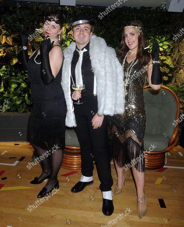 Editorial photo of Elementa Gatsby Halloween Party, London, UK - 28 Oct 2019